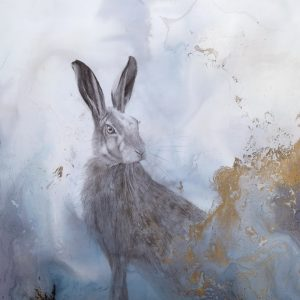 March Hare 300x300 - Watching 63 x 44cm