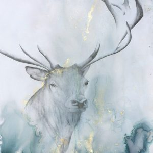 Stag 300x300 - Watching 63 x 44cm